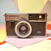 Olympus Quickmatic 600 126 Camera Zuiko 38mm F2.8 Lens + Film Lomo Retro