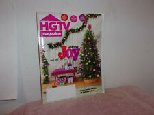 "HGTV  MAGAZINE."" ALL THE JOY...& ALL THE FUN TOO  "" DECEMBER, 2019"