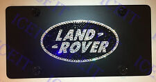 Range Rover Land Rover Front license plate Heavy Duty madewith Swarovski Crystal