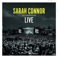 SARAH CONNOR - MUTTERSPRACHE - LIVE  2 CD NEU