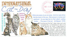 COVERSCAPE computer generated International Cat Day event cover
