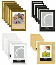 6 X OR 12 X A4 CERTIFICATE PHOTO PICTURE FRAMES FREE STANDING WALL MOUNTABLE