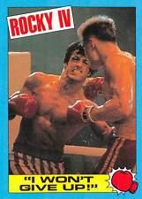 1985 Topps Rocky IV #54 I Wont Give Up! > Rocky Balboa > Ivan Drago
