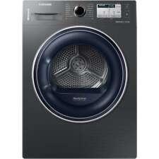 Samsung DV80M50133X Heat Pump Tumble Dryer Free Standing Graphite