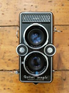 Rolleiflex Rollei Magic (untested) in great condition w/ original leather case