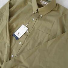 Men's Cutter & Buck XL Button Shirt Light Green Long Sleeve New Pocket