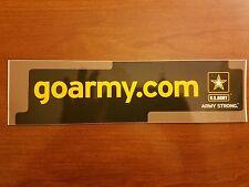 GO ARMY.COM BUMPER STICKER