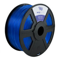 WYZwork 3D Printer Premium ABS Filament 1.75mm 1kg/2.2lb - Translucent Blue