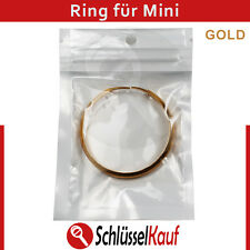 Mini Schlüssel Ring Gold Autoschlüssel Fernbedienung Gehäuse Cooper One Clubman