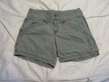 Used Faded Vtg Northface Womens Green Lotus Cashmir Canvas Adventure Shorts Sz 6