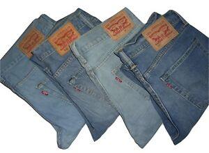 Mens Genuine LEVIS 511 Blue Slim Fit Denim Jeans W32 W31 W34 W36 W38 W40