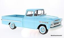 Chevrolet Apache Pickup hellblau 1959 1:18 BOS
