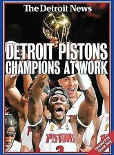 USED (VG) Detroit Pistons: Champions at Work (2004 NBA Champions) by Detroit New