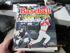 """1986 TOPPS BASEBALL STICKER BOOK  PETE ROSE, """"4192""""   ALL TIME HIT LEADER"""
