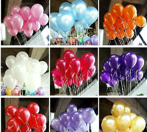 """24 96 288 Wedding 12"""" Latex Colors Balloon Birthday Prom Party Decoration Floral"""