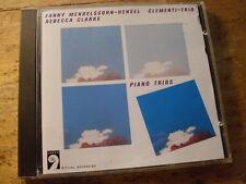 Mendelssohn - Hensel Klaviertrios [CD Album] Clementi-Trio