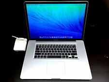 "Apple Macbook Pro 17"" Pre-Retina OSX-2015 / ONE YEAR WARRANTY / 1TB SSD HYBRID!"