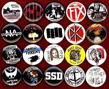 American Hardcore button set 20 pin badge minor threat/bad brain/fix/poison idea