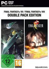 Final Fantasy VII + VIII Double Pack (PC, sólo la Steam key descarga código) no CD