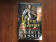 Peter the Great by Robert K. Massif Pulitzer Prize-Winning Bestseller store#5884