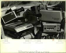 1981 Press Photo Home and pro video gear- recording and audio equipments