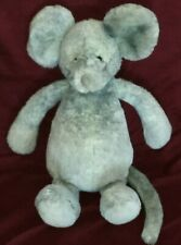 New listing Jellycat London Plush Gray Mouse Stuffed Toy Animal Soft Plush 12� Euc Ln