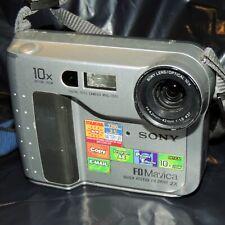 Sony Mavica MVC FD75  Digital Camera DISC ERROR-DISLAY - REPAIR-PARTS