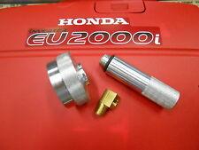"HONDA EU2000I GENERATOR EXTENDED RUN GAS CAP,OIL FILL DRAIN TUBE KIT 1/4"" ELBOW"