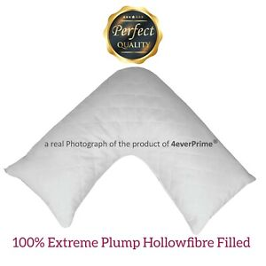V Shape Support Pillow QUILTED Pregnancy Maternity Orthopaedic Back Neck Support