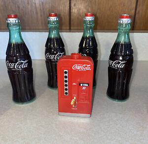 Lot of 9 Coca Cola Coke Light Set String Christmas Strand Plastic Covers (A-2)