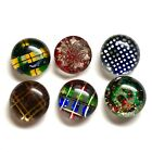Antique Buttons ~ Fine Bunch of Glass on Metal Kaleidoscopes
