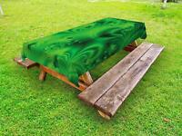 Lime Green Outdoor Picnic Tablecloth in 3 Sizes Washable Waterproof