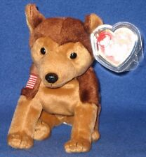 TY COURAGE the DOG BEANIE BABY - MINT with MINT TAG - SEE PICS