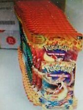 Pokémon XY Flashfire Booster Box Lot 24 Sleeved Packs loose ENGLISH TCG / CCG