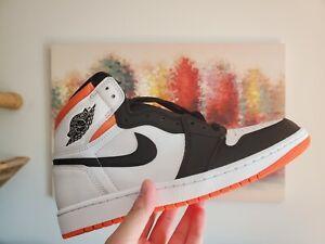 Air Jordan 1 Retro High Electro Orange, US Men's Size 9,555088-180