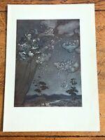 1917 arthur rackham print ( rip van winkle ) ref 4
