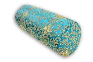 Bolster Cover*Chinese Rayon Brocade Neck Roll Long Tube Yoga Pillow Case*BL19