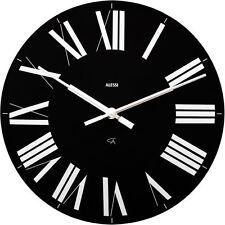 Alessi - 12 B - Firenze, Wall clock - Black