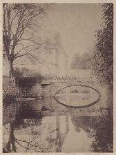 Photo Achille Quinet Château France Vintage Albumine ca 1865