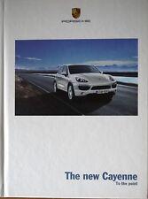 Porsche Cayenne, Hardback Sales Brochure