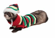 Hat and Sweater Set Striped - Assorted Colors - Marshall Pet