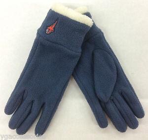 NBA Charlotte Bobcats Reebok Women's Fleece Gloves NEW!