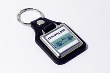 Daimler SP250 Dart Keyring - Leatherette British Classic Car Retro Auto Keyfob