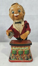TN Toys, Rosko The Bar Tender, Battery Operated Vintage Tin Toy