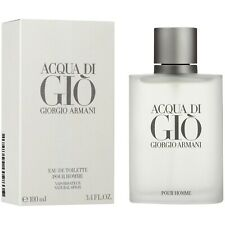 ACQUA DI GIO BY GIORGIO ARMANI FOR MEN 3.4 OZ EAU DE TOILETTE NEW & SEALED