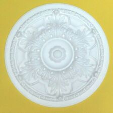 44.5  CM  Ceiling Rose Polystyrene Easy Fit Lightweight 'ACANTHUS'' Quality Rose