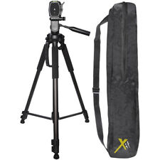 "Xit Elite Series 72"" 72 Inch DSLR Camera Tripod with Quick Release & Case Black"