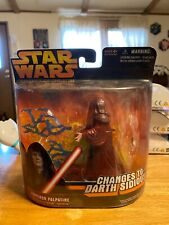 Emperor Palpatine Changes To Darth Sidious Hasbro Star Wars 2005 Action Figure