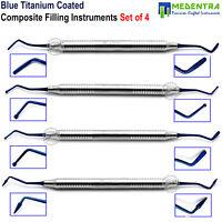 Composite Dental Filling Instrument Titanium Light Weight Restorative Spatula CE