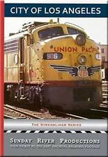 City of Los Angeles Streamliner DVD COLA Union Pacific